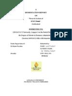 LALIT YADAV (Financial Analysis)