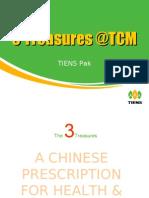3 Treasure in TCM