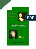 Deleuze Gilles - Curso Sobre Kant