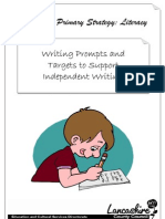 Independent Writing Booklet