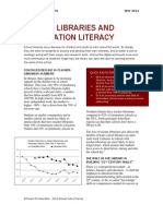 People for Education School Libraries and Information Literacy