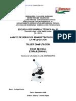 Análisis de Objeto Técnico El Microscopio