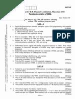 Fundamentals of HDL May Jun 010