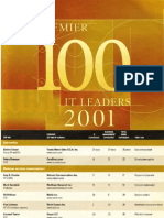 Computer World 100 IT Leaders