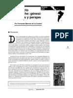 Conflicto Mapuche; Génesis, actores y perspectivas