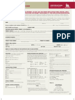 CIA Application Form