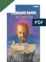 Tal Como Fue  - Lobsang Rampa