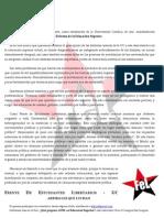 Declaracion Reforma Educacion Superior - FeL- UC