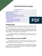 Manual de ODBC