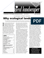 Winter 2003 The Ecological Landscaper Newsletter