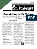 Fall 2005 The Ecological Landscaper Newsletter