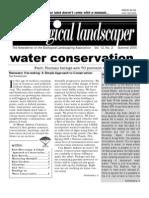 Summer 2005 The Ecological Landscaper Newsletter