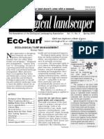 Spring 2005 The Ecological Landscaper Newsletter