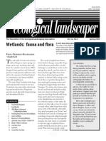 Spring 2006 The Ecological Landscaper Newsletter