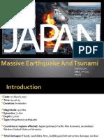 Japan Earthquake and Disaster