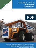 55531920 75600 Es Camion Minero BELAZ