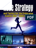 Middle Distance Running  Race Strategy