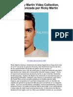 El Ricky Martin Video Collection protagonizada por - 5 estrellas revisión