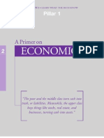 Pillar 1 - A Primer on Economics