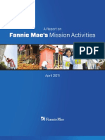 A Report on Fannie Mae's Mission Activities - April 2011