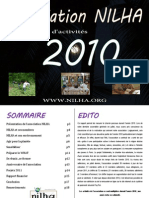 Rapport  Activités NILHA 2010