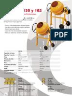Catálogo Hormigonera Profesional LIS135 y LIS 162 (es)