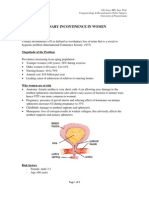 Urinary Incontinence Handout