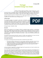 2008_Renewable Energy Fact Sheet - Portugal_en
