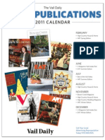 Vail Daily Special Sections 2011
