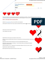 CorelDRAW Tutorial 3d Heart