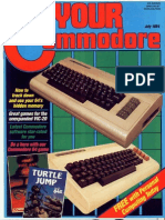 Your Commodore Issue 00 1984 Jul