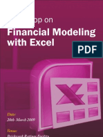 Excel in Financial Modeling