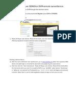 How to Cofigure Domain Name