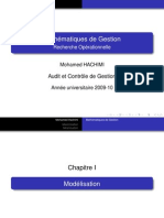 Mathematique de gestion