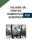 ANTOLOGÍA DE POETAS ROMÁNTICOS EUROPEOS