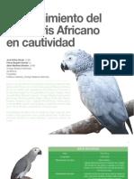 8 Mantenimiento del Loro Gris Africano en cautividad