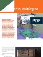 10 Instrumental quirúrgico