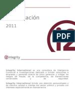 I2 Presentacion 2011 Corporate Security