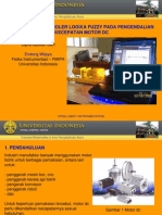 Penerapan FLC Pada Pengendalian Kecepatan Motor DC