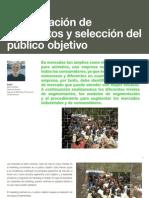 11 Identificación de segmentos y selección del público objetivo