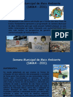 Semana Municipal de Meio Ambiente (SMMA - 2011).PptIN