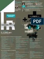 Programme Detaille de La 21e Edition Du Congres HR Des 5 Et 6 Avril 2011