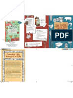 Farm Anatomy - folded marketing piece to hold 4 Farm Anatomy cards and envelopes