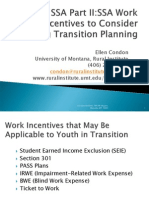 SSA Work Incentive 2011 Final