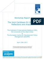 IIDS-ECDPM -The Joint Caribbean EU Strategy Reflections & Analysis [May 2011]
