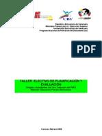 -Taller Electivo de Planificacion y Evaluacion8vo Semestre[1][1]