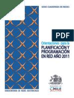 Orientaciones 2011