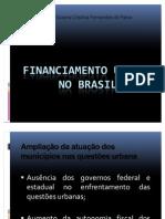 Aula_Financiamento Urbano No Brasil
