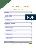 Civil Procedure - Spring Outline 2009