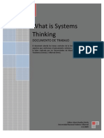 LECTURA Nº 10 WHAT IS SYSTEMS THINKING